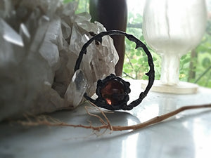 ~ BlackThorn Dark Moon Ring Talisman ~Dark of the Moon ~