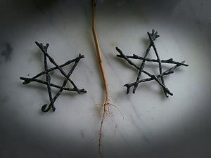 ~ Witching Tree Pentagram ~ Woven Star
