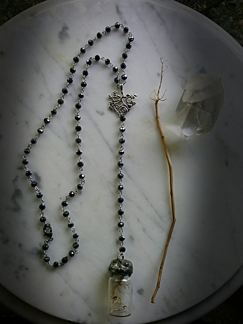 ~ The Veneficium Rosary ~ Root Amulet Necklace ~