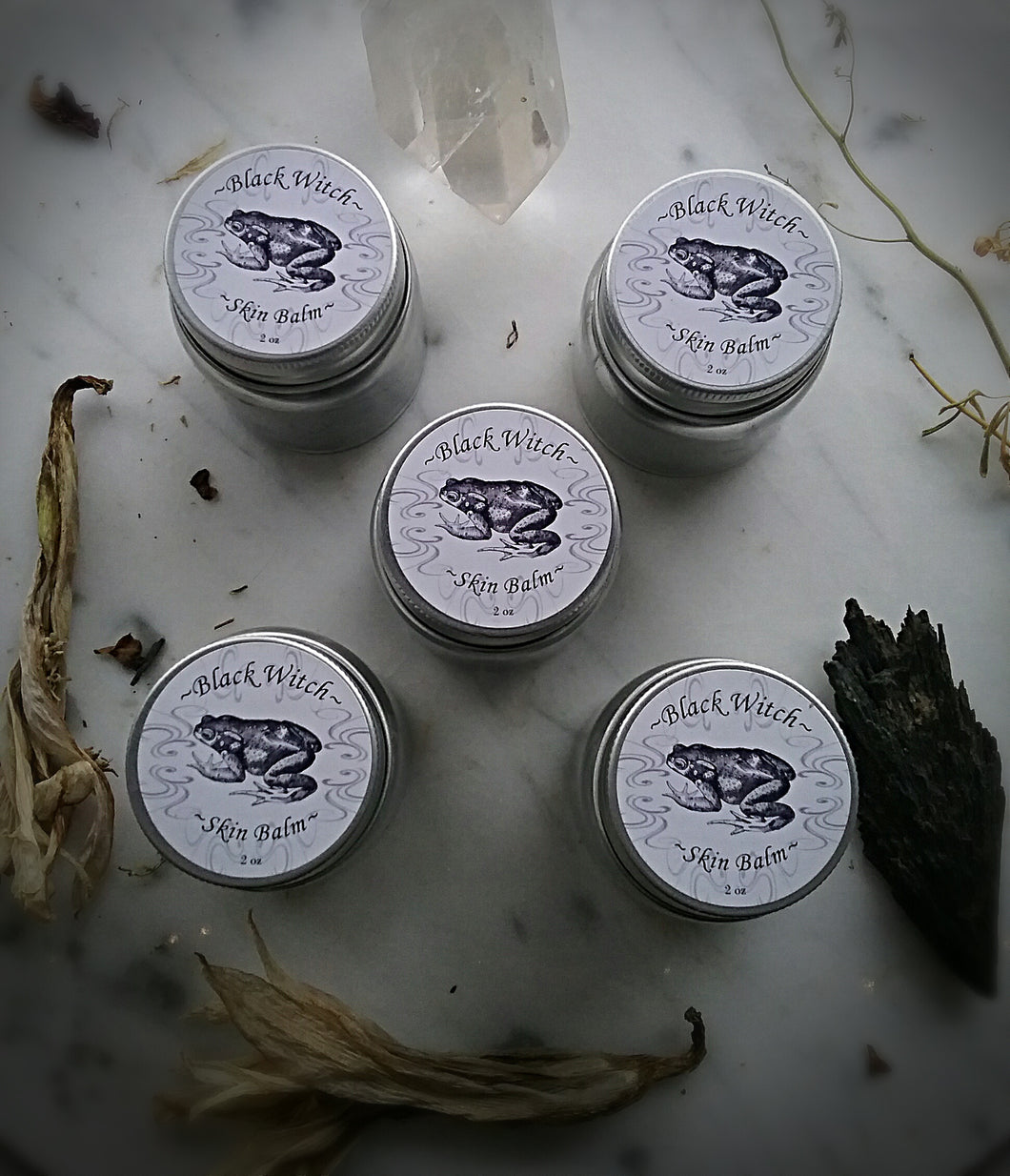 Black Witch Balm~  Detox Salve ~ Herbal Ointment ~