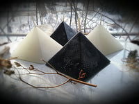 The Crystal Pyramid Ritual Candles~ Blessings or Banishing Candles