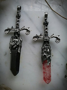 The Bloodlines & Shadow Crystal Dagger Pendants