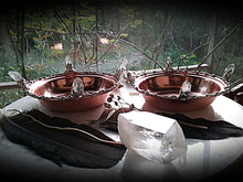 Crystal Alchemy Blessings Ritual Bowl~ Copper Vessel~ Healing Bowl