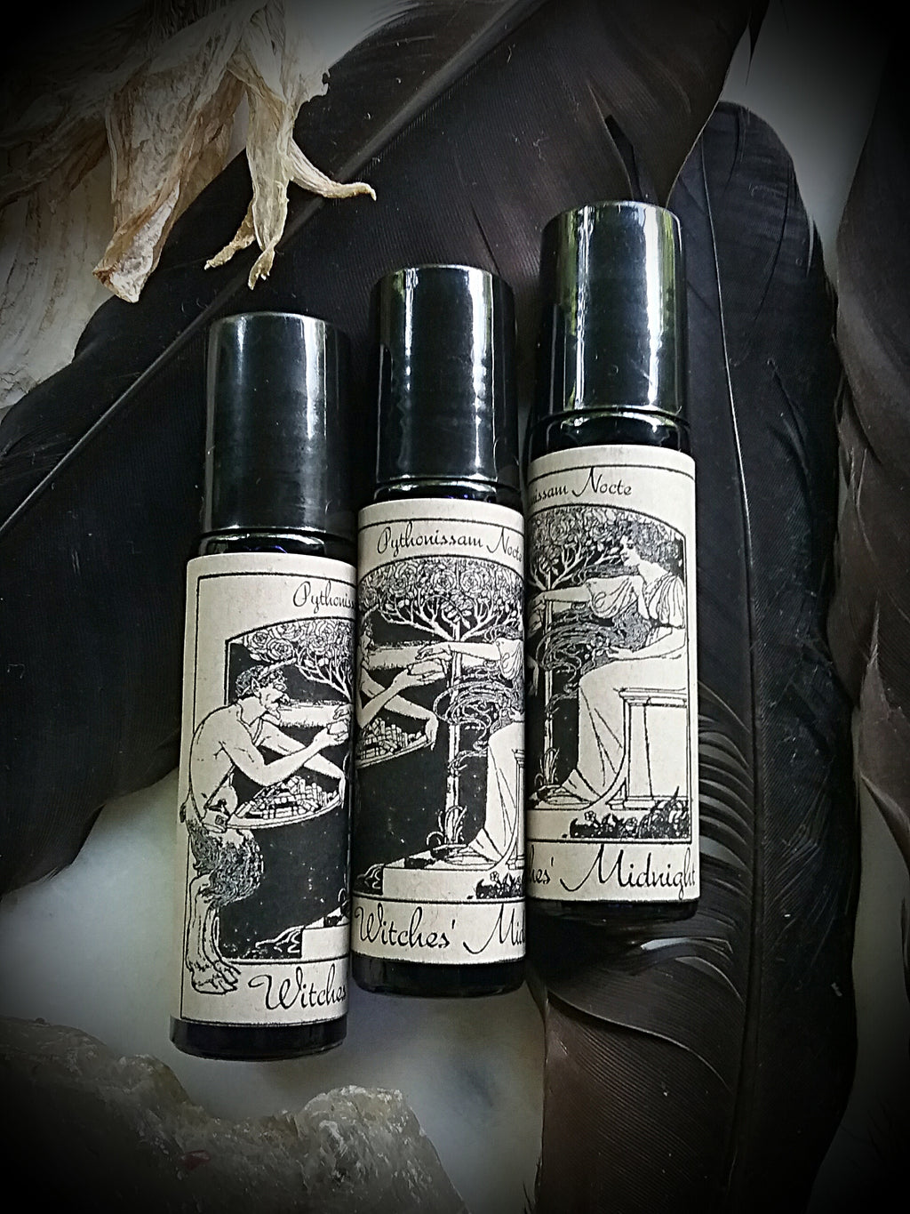 ~ Witches Midnight Oil ~ Herbal Potion Fragrance