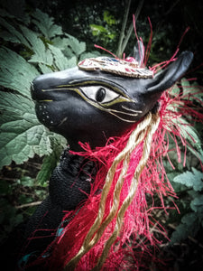 The Black Cat of the Nile Spirit Poppet