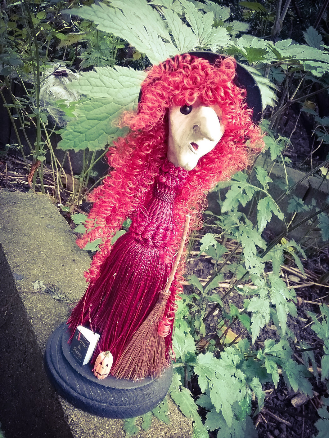 The Hedge Witch Spirit Poppet
