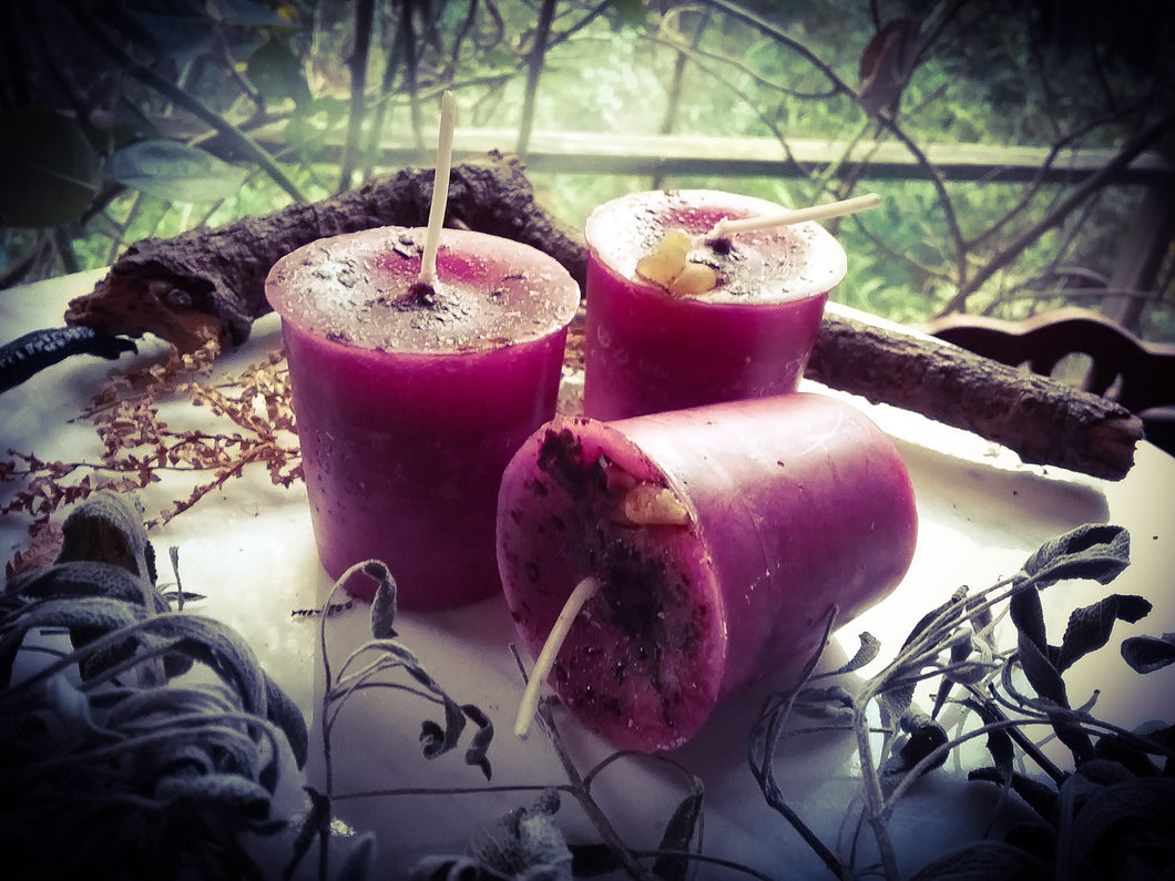 Autumn Apple Paraffin Candles