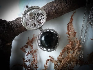 Visions Chamber Necklace~ Crystal Ball Locket~