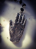 Palmistry Hand Necklace ~ Astrological ~ Occult Hand