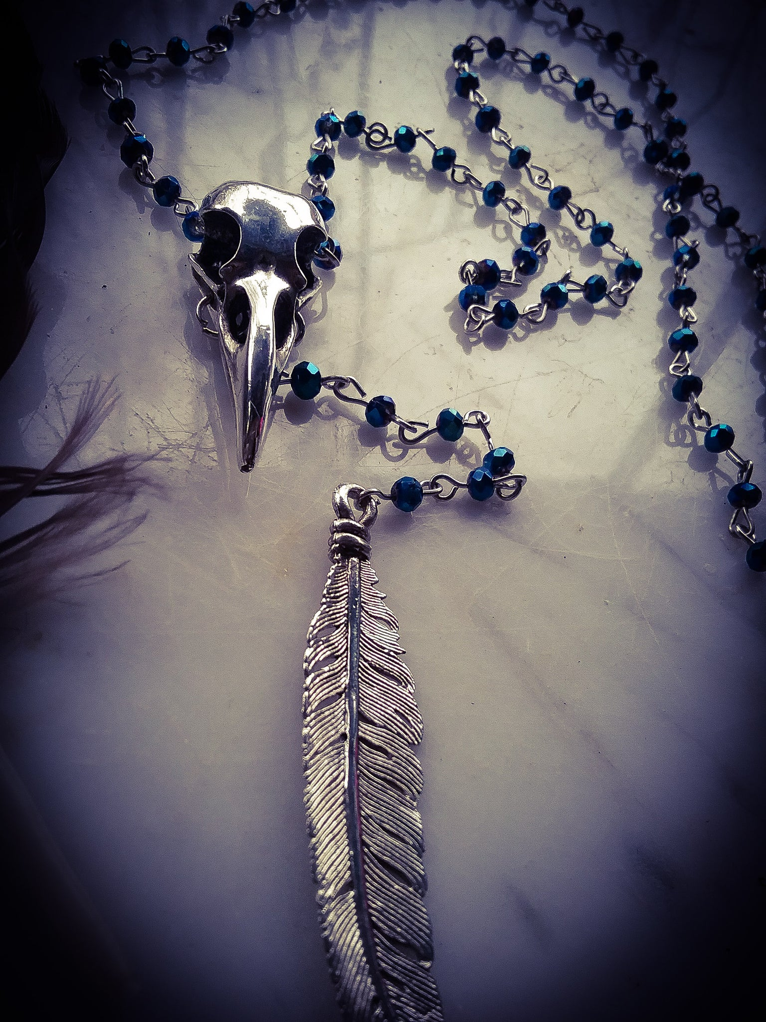 Night Raven Rosary ~ Transformation
