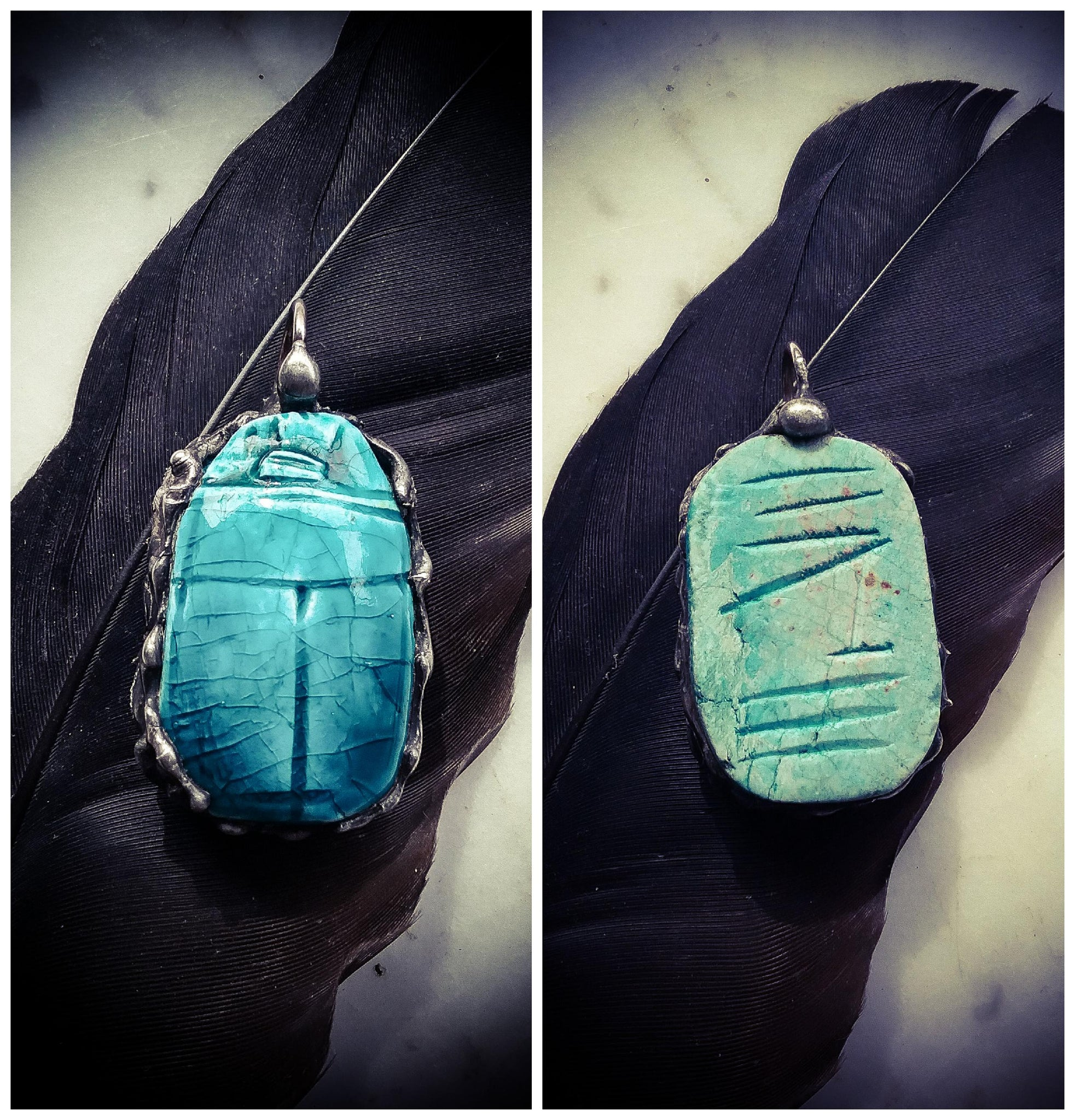 The Scarab Amulets ~ Ancient Transformation Majick
