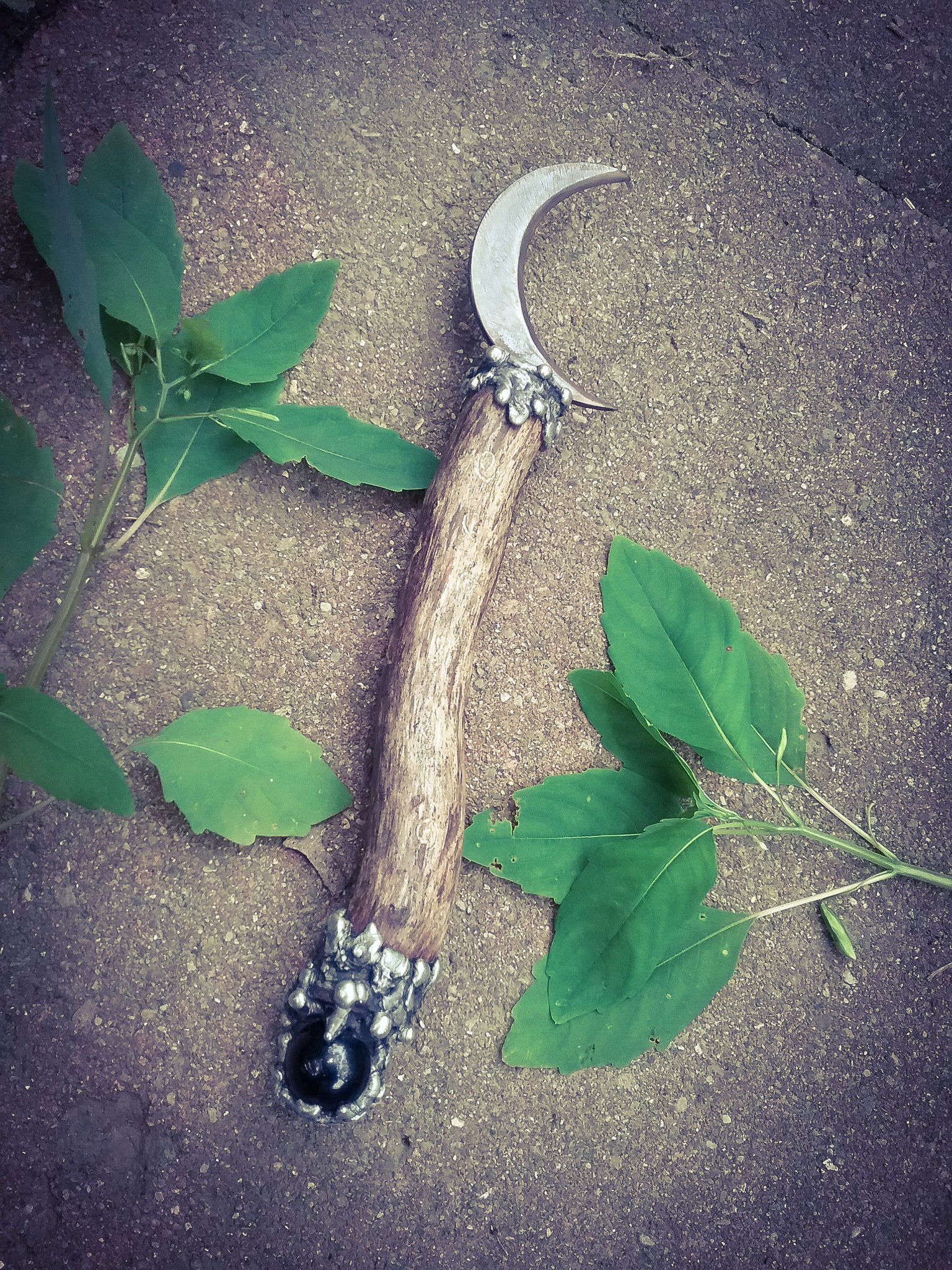 Witches Blade ~ Cresent Boline~ Hecates Blade