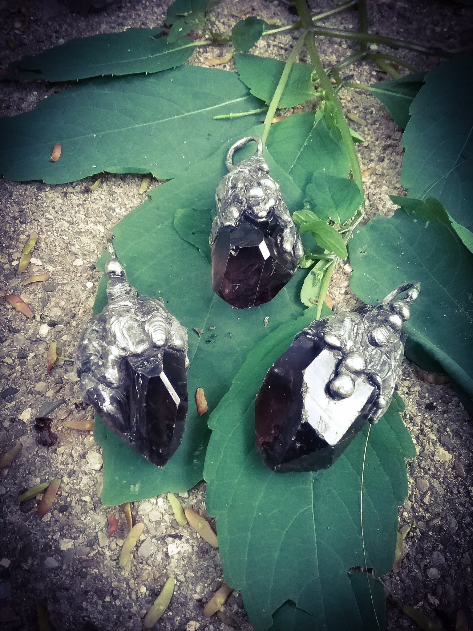 The Dark Crystal  Amulet~ Smokey Quartz