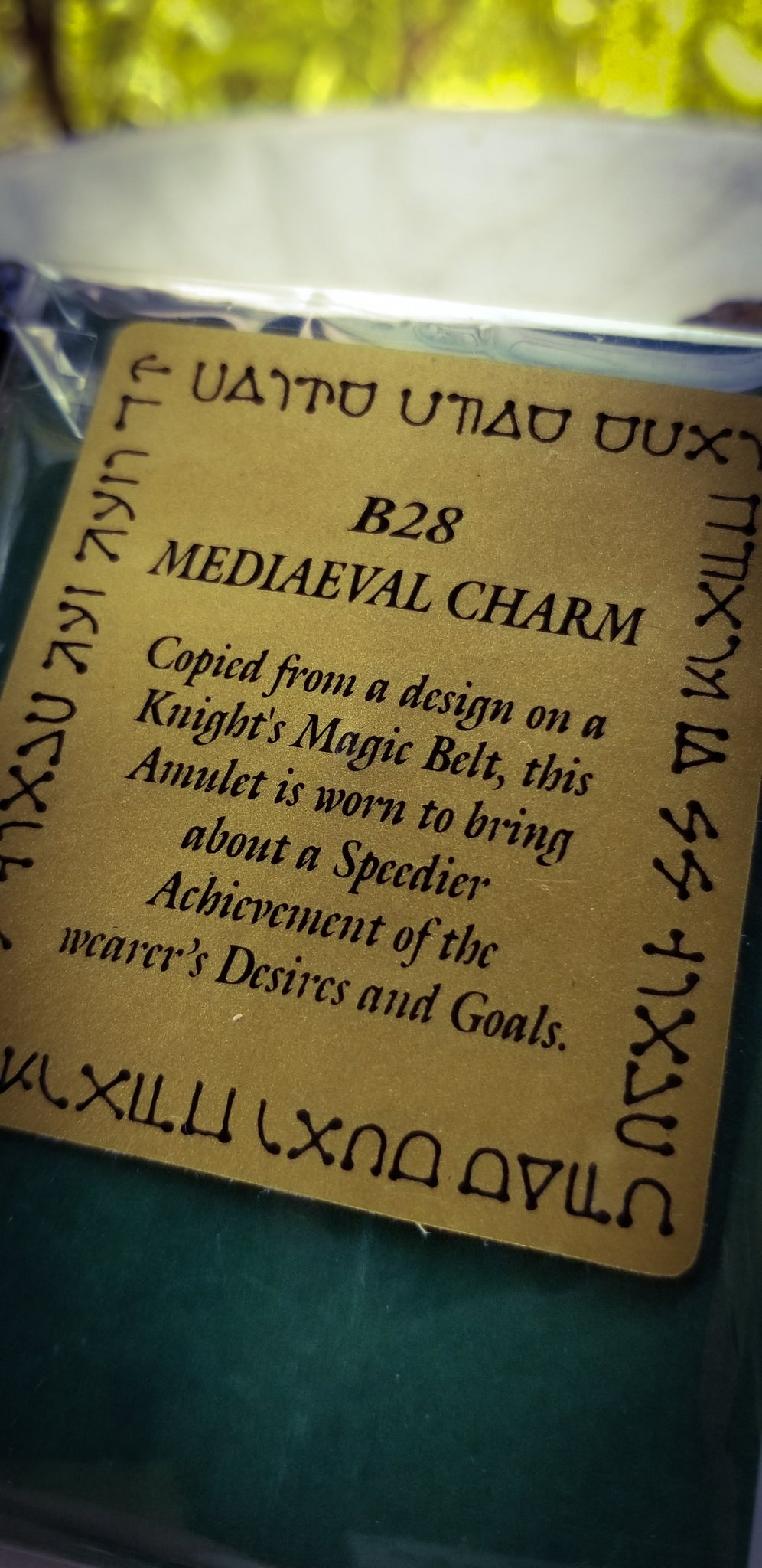 Amulet~ Speedy Achievement of Desires & Goals