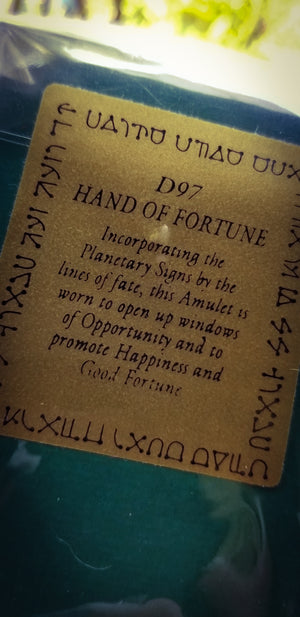 Seal~ Hand of Fortune