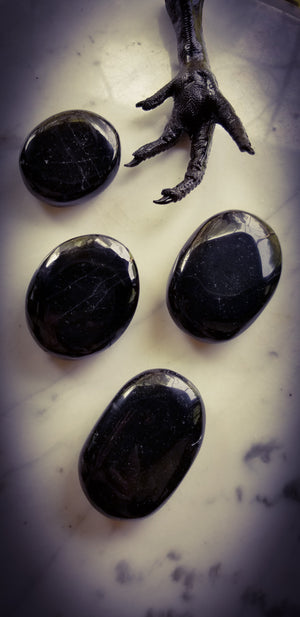 Coming Soon~Scrying Stone ~ Black Tourmaline ~ Obsidian