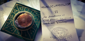 Seal~ For Steadiness of Vital Power,  For Good Health & Vitality