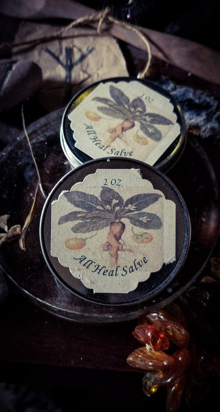 All Heal Salve ~ Herbal Ointment ~