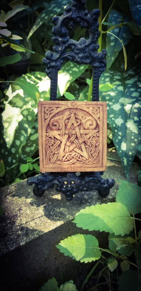 Small Pentacle Plaque by Paul Borda