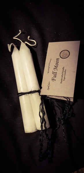Sanctified Moon Spell Candles~ by Madame Áine