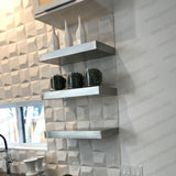 Make-To-Order 12-22 (Cm. 30.5 - 56) Length Shelves Ponoma: Ship Within 1 Month - Floating