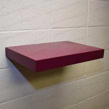 "Load image into Gallery viewer, 18""x12""x2.0"" (cm.46x30,5x5,1) brushed stainless steel floating shelf - Ponoma"