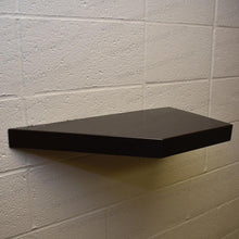 "Load image into Gallery viewer, 18""x12""x2.0"" (cm. 46x30,5x5,1) painted stainless floating shelf with 1 LED light - Ponoma"