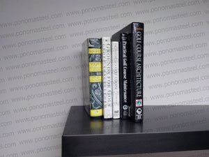 "72""x7""x2.0"" (cm.183x18x5,1) stainless steel floating shelf painted in different colors - Ponoma"