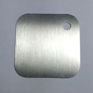 "*2""x2"" (cm.5x5) SAMPLE of stainless steel plate - Ponoma"