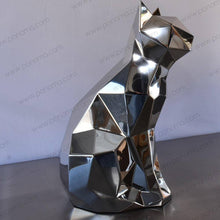 Load image into Gallery viewer, Stainless steel sculpture of CAT - Ponoma