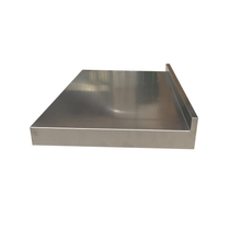 "Load image into Gallery viewer, Stainless steel countertop Ponoma® 2"" with 2"" backsplash brushed seamless - Ponoma"
