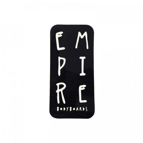 Empire Bodyboards Text Sticker (more colors available) - Stickers - 662 Bodyboard Shop
