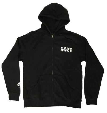 662 Mob Zip Hood - Hoodies - 662 Bodyboard Shop