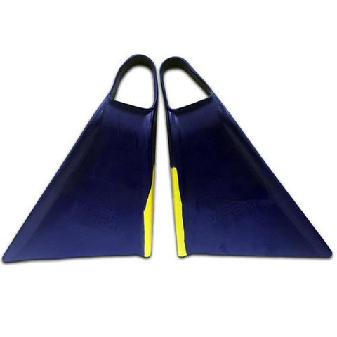 Mike Stewart Delta Viper Swim Fins 2.0 Royal Blue/Yellow