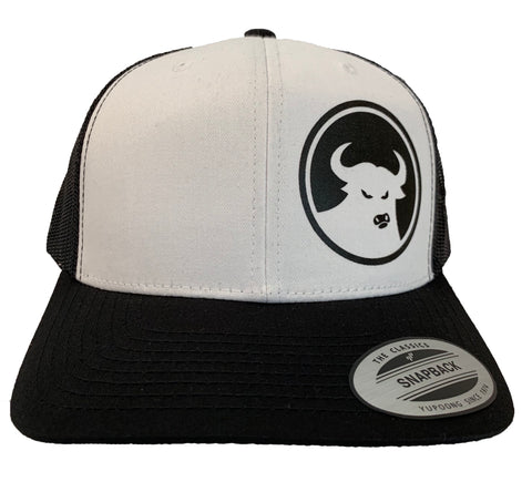 662 Retro Black/White 6 Panel Trucker - Hats - 662 Bodyboard Shop