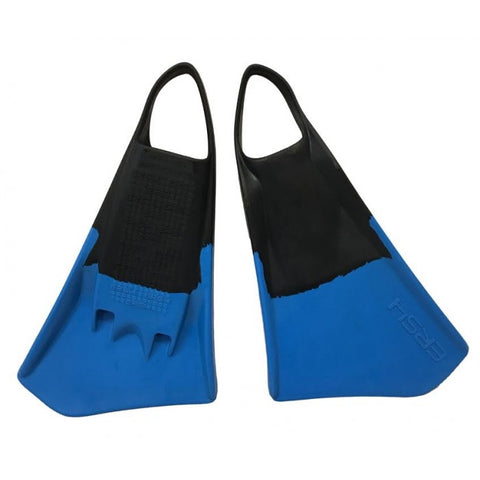 ERS4 Swim Fins Blue/Black - Swim Fins - 662 Bodyboard Shop
