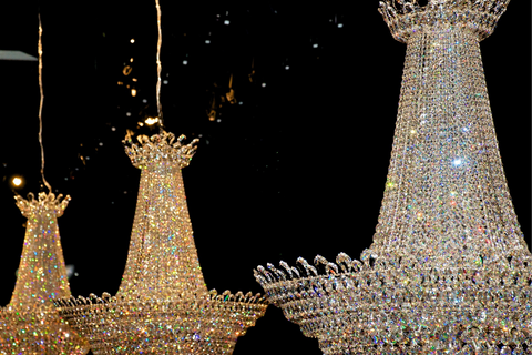YOU CAN DECORATE A PALACE WITH SWAROVSKI