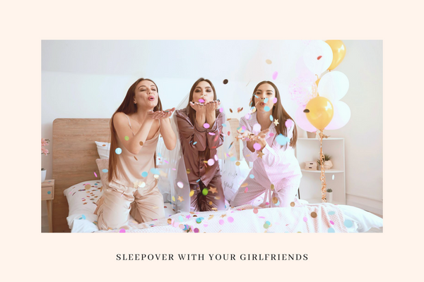 sleepover with girl friends