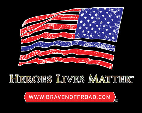 Heroes Lives Matter Stickers 5-Pack