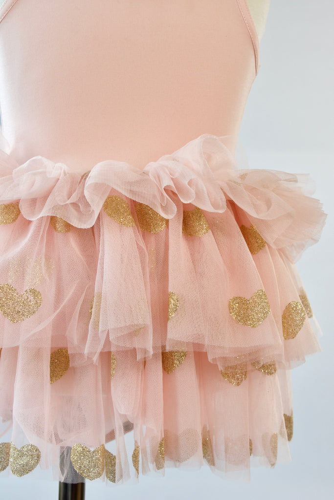 Ballet-pink-gold-glitter-heart-toddler-tutu-dress-3-It's My Party Kids Boutique