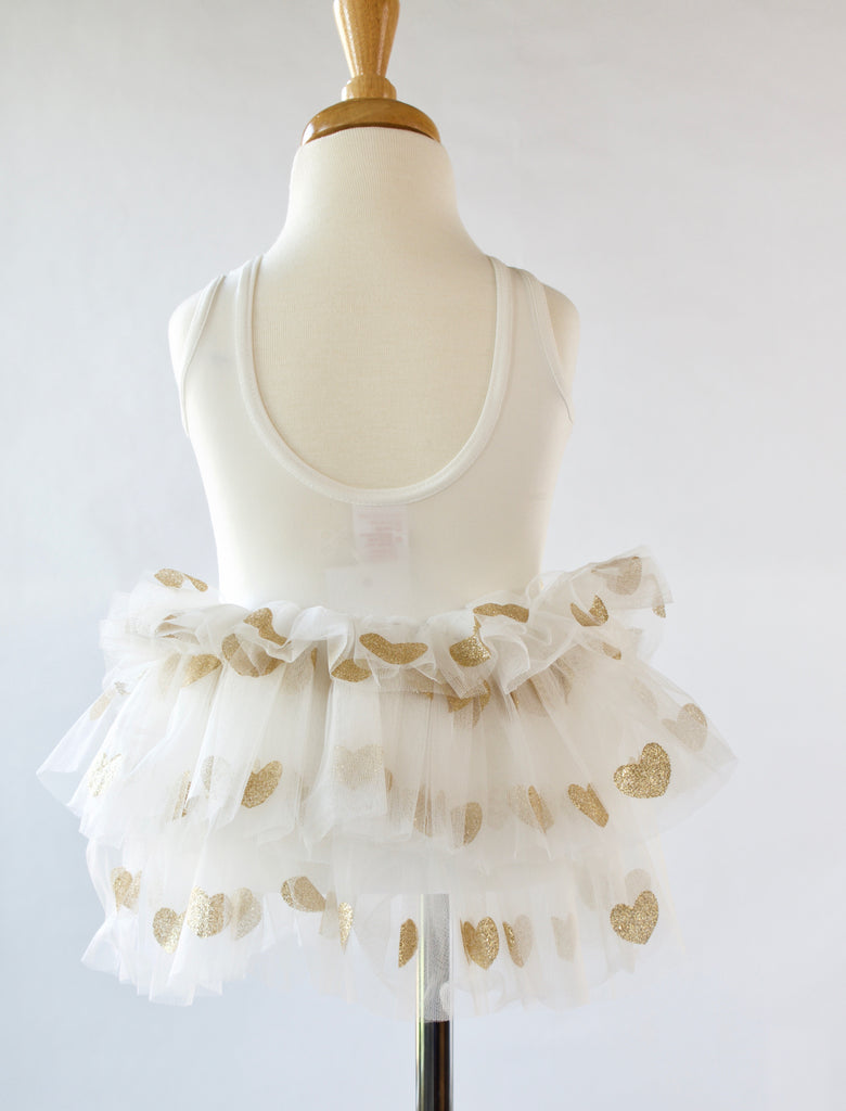 White-Ivory-Glitter-gold-toddler-tutu-dress-2-It's My Party Kids Boutique