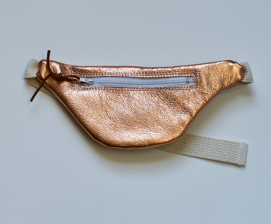 COPPER BASIN FANNY PACK - BRONZE METALLIC, PURSE - itsmypartykids