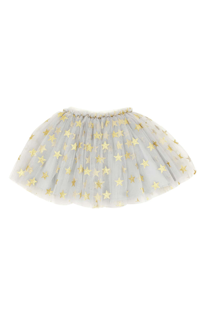 Gold Star Tutu Skirt - GREY, Tutu - itsmypartykids