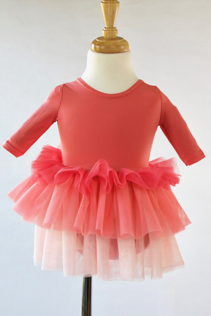 coral-pink-ombre-layered-ruffle-toddler-ballet-tutu-dress-It's My party Kids Boutique