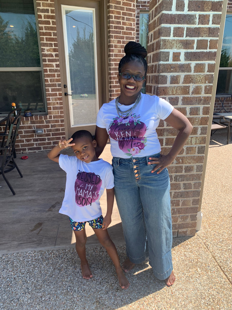 blessed-mama-and-blessed-daughter-mommy-and-me-mothers-day-tee-shirt-purple-floral-4-its my party kids boutique