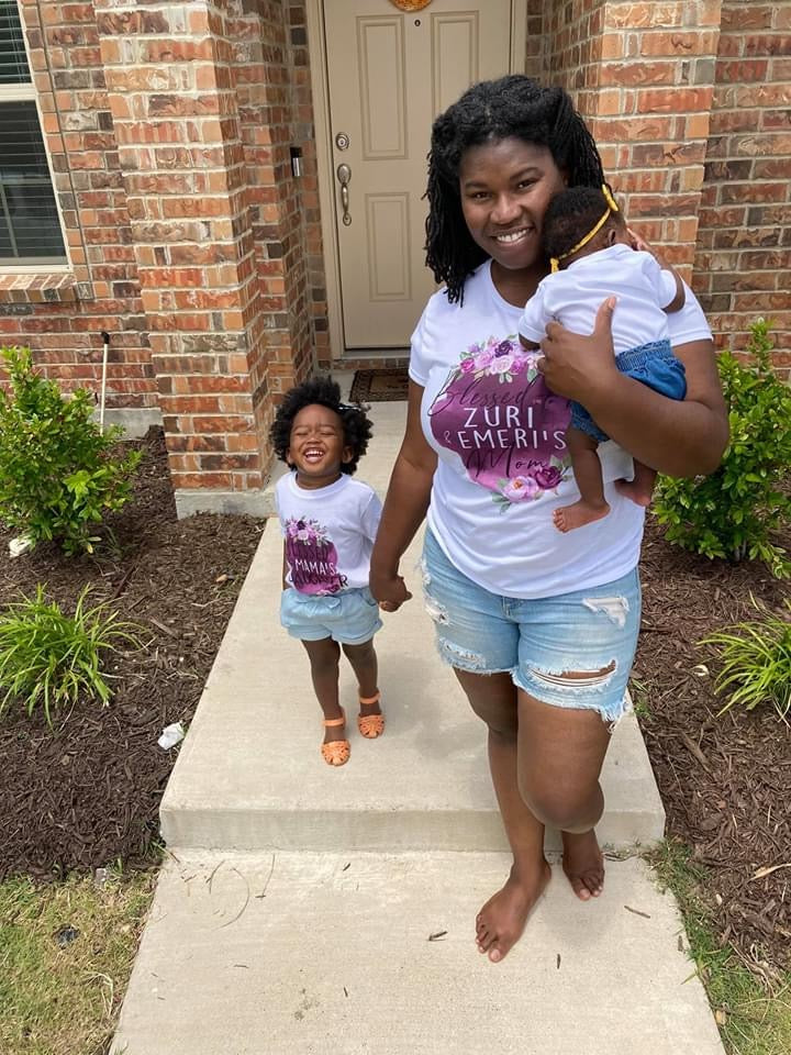 blessed-mama-and-blessed-daughter-mommy-and-me-mothers-day-tee-shirt-purple-floral-6-its my party kids boutique