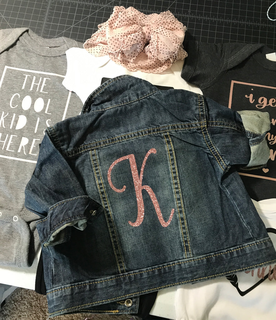 Glitter-monogram-toddler-denim-custom-jacket-2-It's My Party Kids Boutique