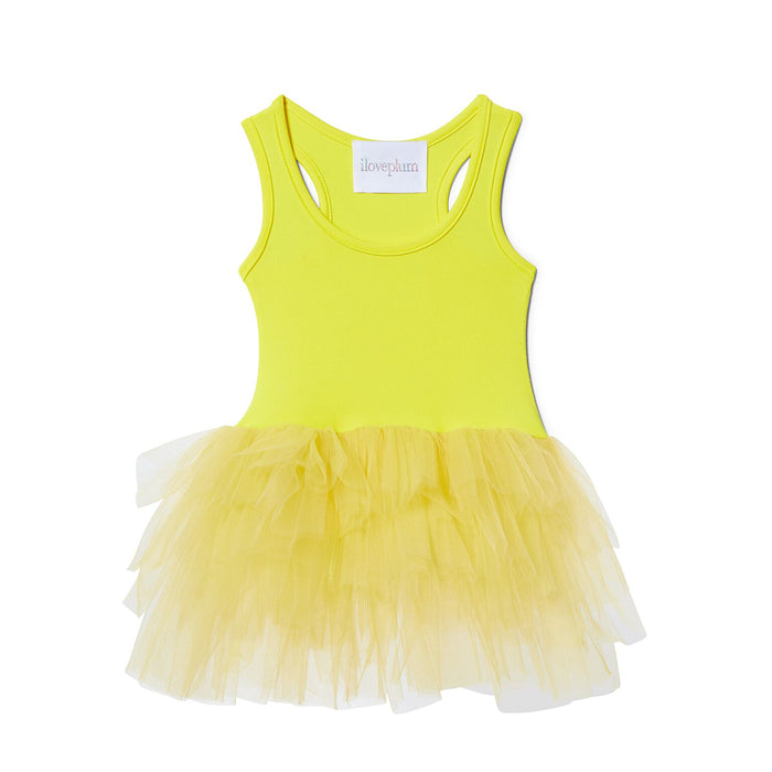 ANAISE NEON YELLOW Tutu Dress, Tutu - itsmypartykids
