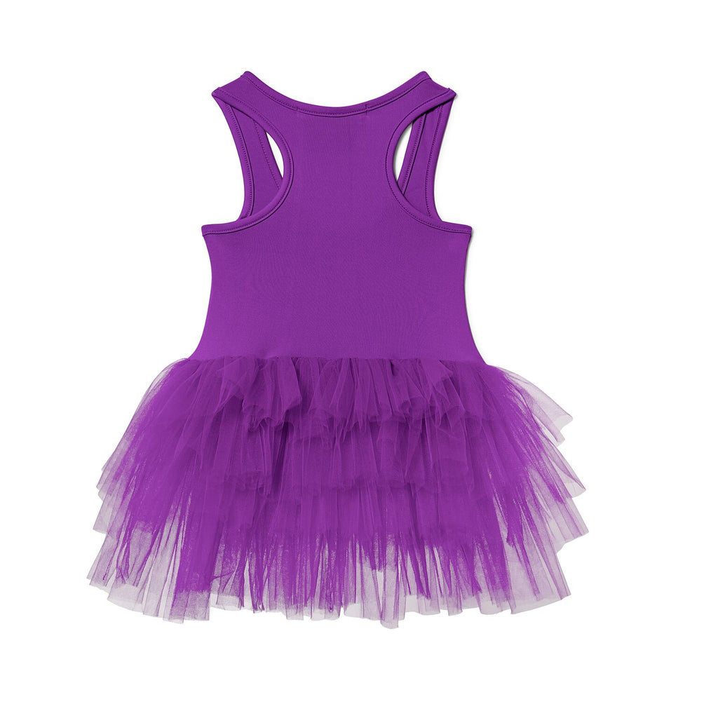 ALEIA NEON PURPLE TUTU DRESS, Tutu - itsmypartykids