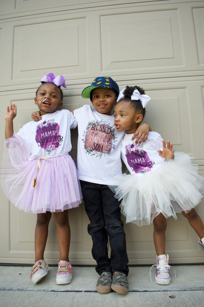 blessed-to-be-my-mamas-son-mommy-and-me-mothers-day-baby-onesie-or-kids-tee-shirt-it's my party kids boutique-4